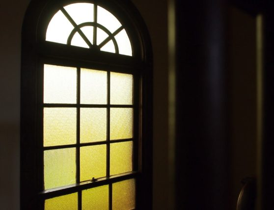 駒井家住宅のステンドグラス