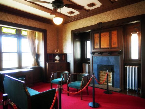 旧平賀邸の応接室