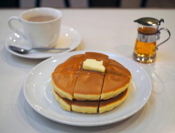 コーヒの店アキラのホットケーキ