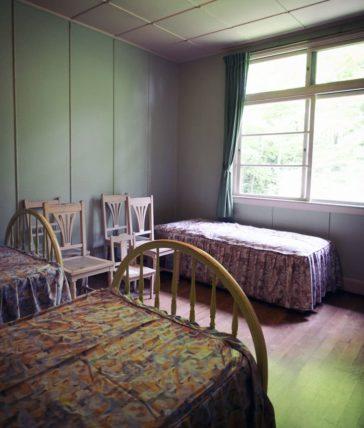 ヴォーリズ六甲山荘のこども部屋