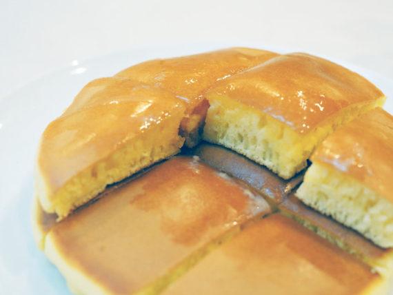 コーヒの店アキラのホットケーキアップ