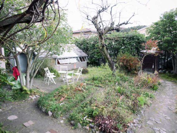 駒井家住宅の庭
