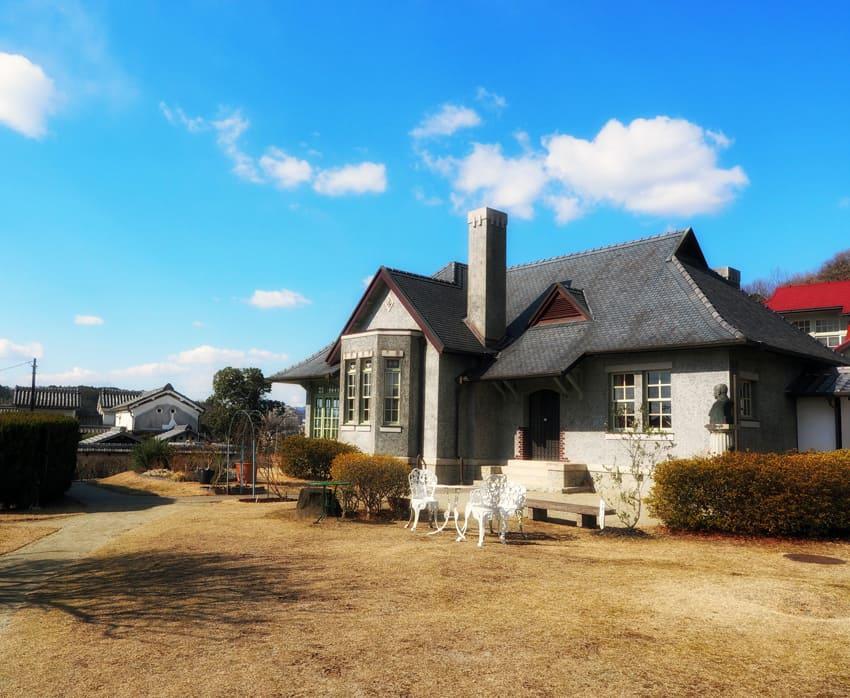 旧平賀邸の外観