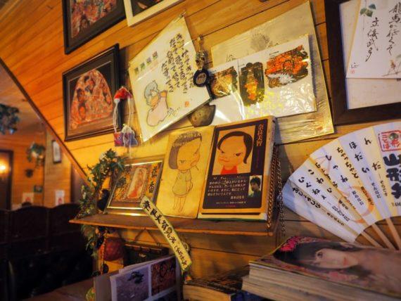 純喫茶ルビアン・壁の掲示物