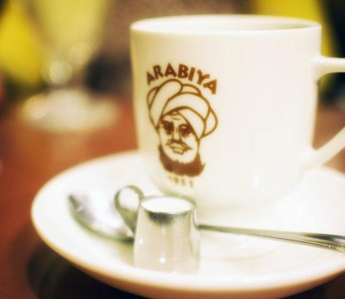 アラビヤコーヒーのブレンドコーヒー