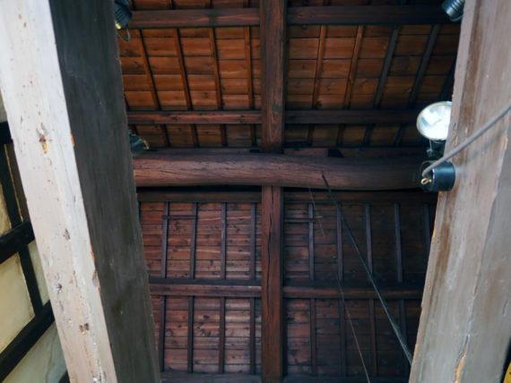 カフェキュービックポイント・天井