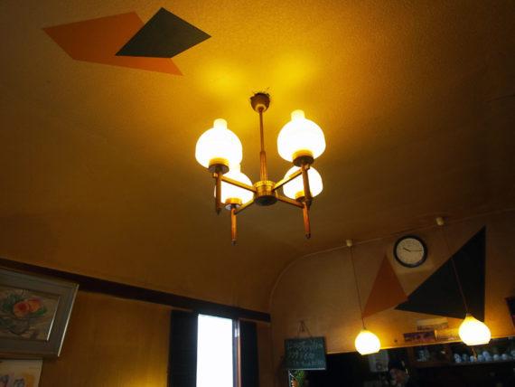 喫茶サンシャインの天井