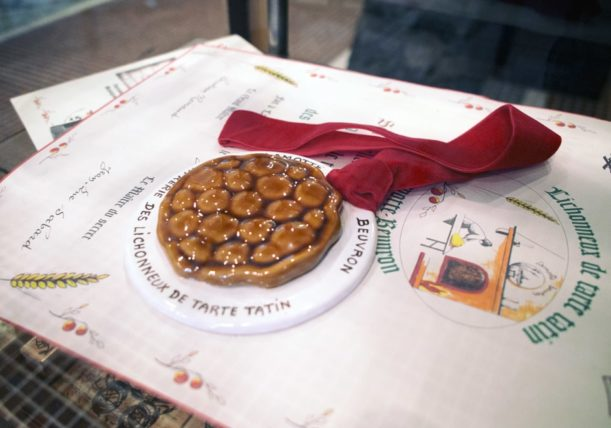 タルトタタン協会のメダルと認定証
