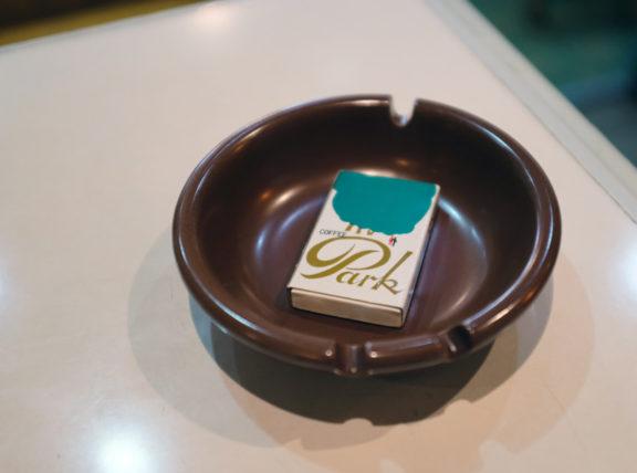 盛岡・喫茶パァクのマッチ箱