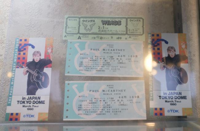 ポールマッカートニーのコンサートチケット