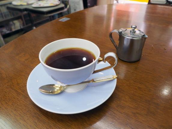 喫茶くすのきのバターコーヒー