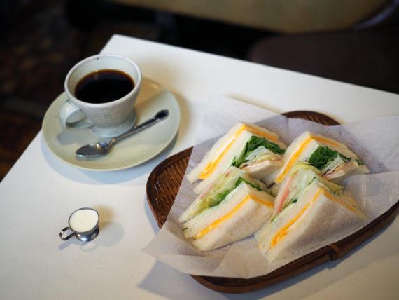 風流茶房淳・サンドイッチとブレンド