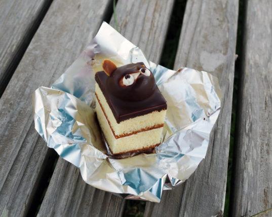 お菓子の山彦のたぬきケーキ