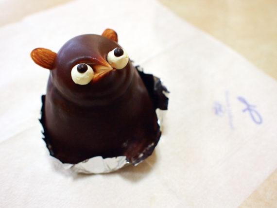 徳島のたぬきケーキ