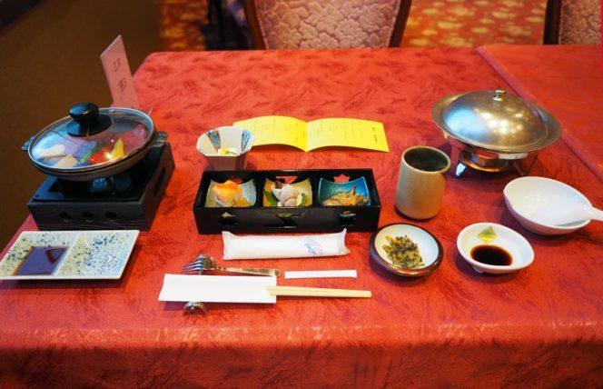 メインダイニング錦・夕食