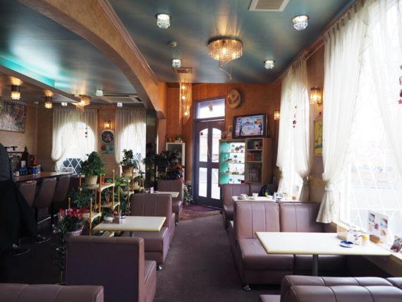 喫茶ビーナス・店内全体図
