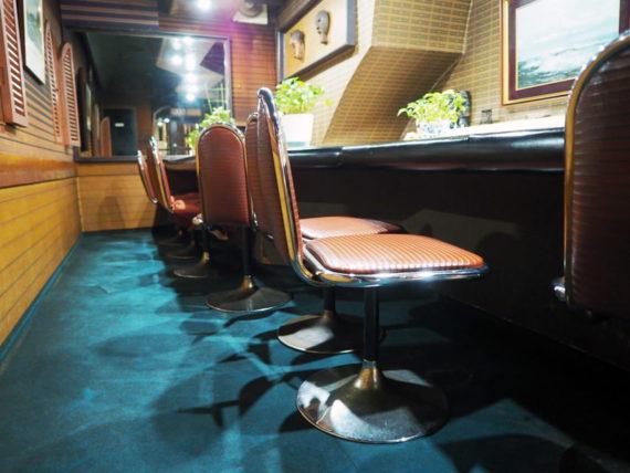 喫茶ミミ・椅子