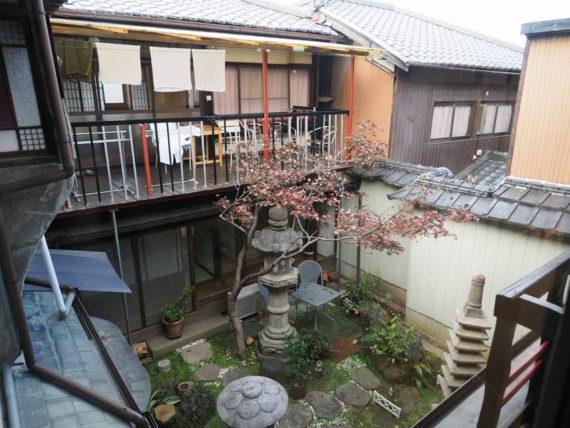 橋本の香2階・物干しスペース