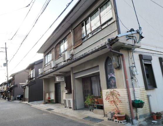 橋本遊郭・多津美旅館の外観