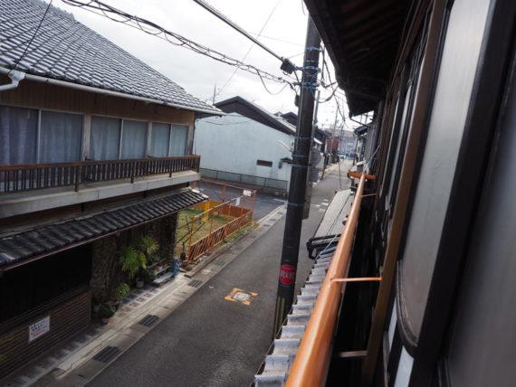 橋本の香・2階からの眺め