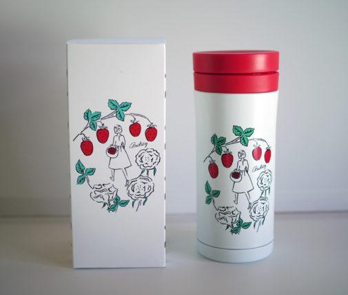 阪急バレンタイン2021・オードリードリンクボトルと箱