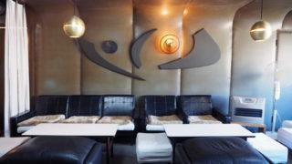 喫茶nest・壁面