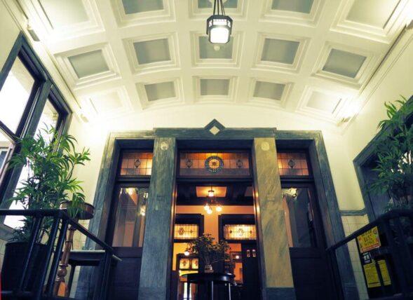 神戸迎賓館旧西尾邸・玄関