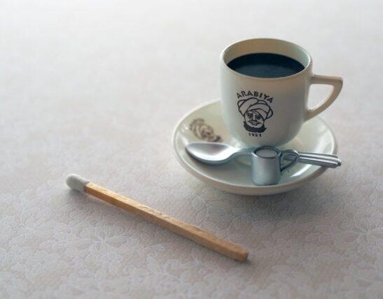 [大阪・アラビヤコーヒー]オリジナルブレンドコーヒーミニチュア