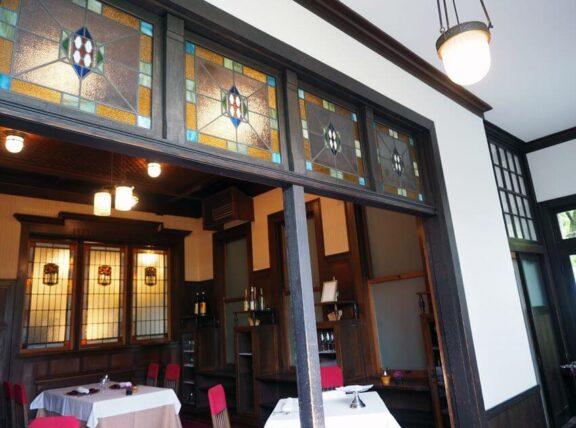 神戸迎賓館旧西尾邸・ルアンのステンドグラス
