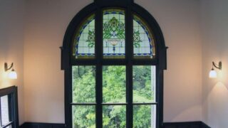 神戸迎賓館旧西尾邸・ステンドグラスアップ