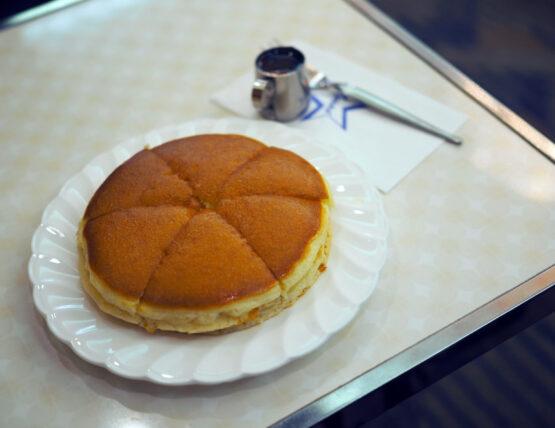 アメリカンのホットケーキ