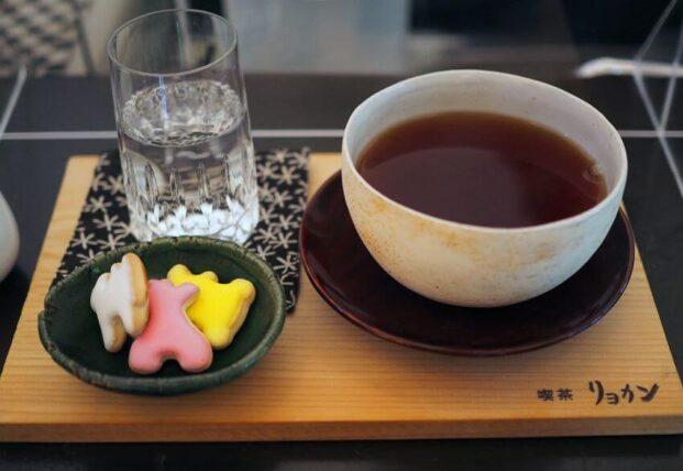 喫茶リョカン・ミルクティー