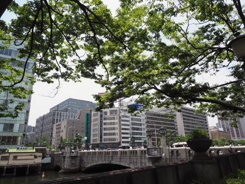 淀屋橋と石原ビルディング