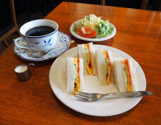 サワダ珈琲・サンドイッチモーニング