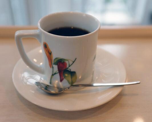 蘭館珈琲ハウス・コーヒー