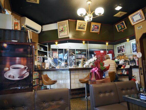 喫茶セブン・カウンター