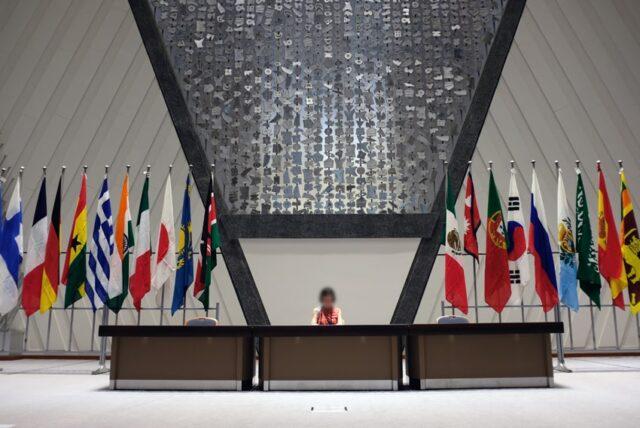 京都国際会館・大会議場舞台
