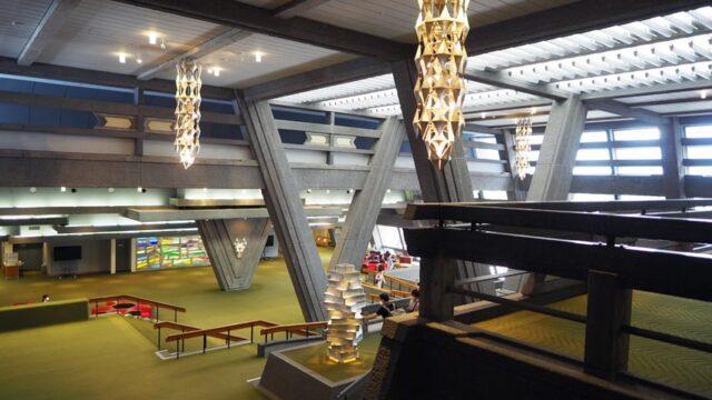 京都国際会館・メインロビー全景