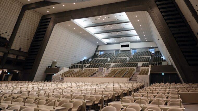 京都国際会館・大会議場客席側