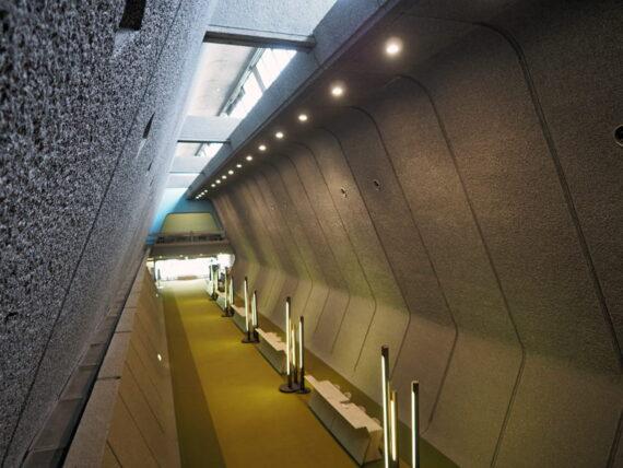 京都国際会館・ 入口2階より