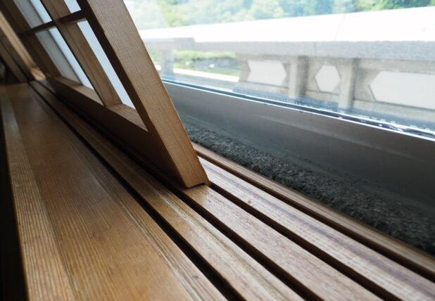 京都国際会館・会議場C1斜めの障子