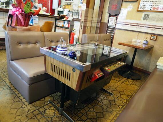 喫茶セブン・テーブルゲーム機