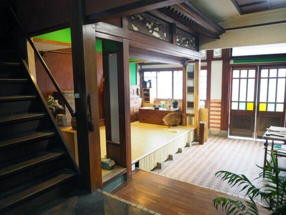 旧第二友栄楼・一階全景