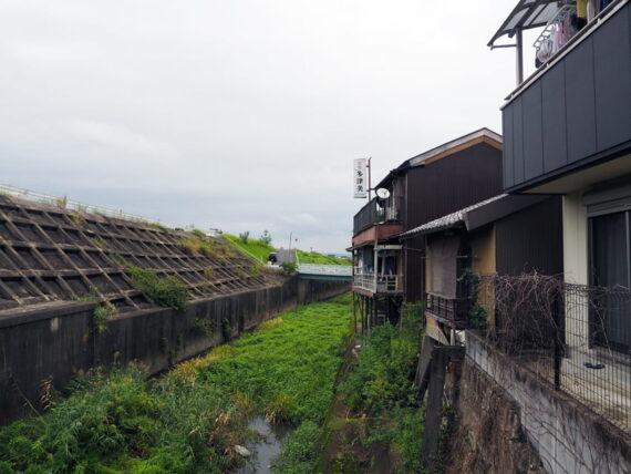 旧第二友栄楼・バルコニーからの景色