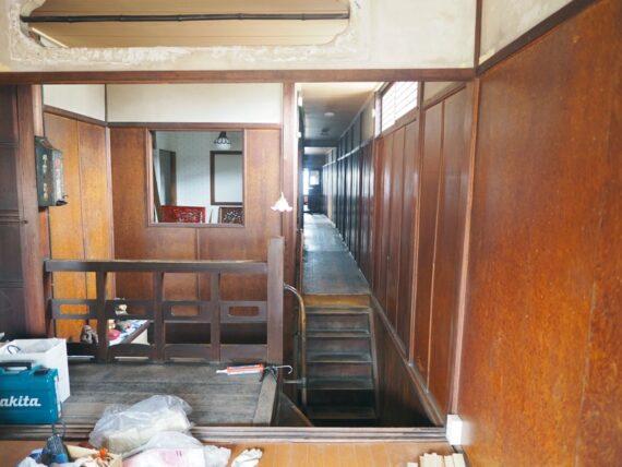 旧第二友栄楼・二階