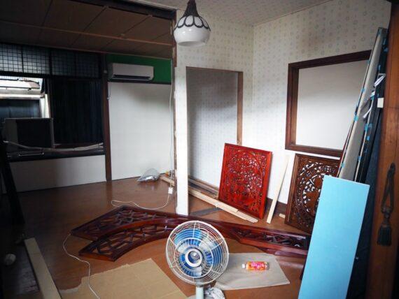 旧第二友栄楼・小部屋